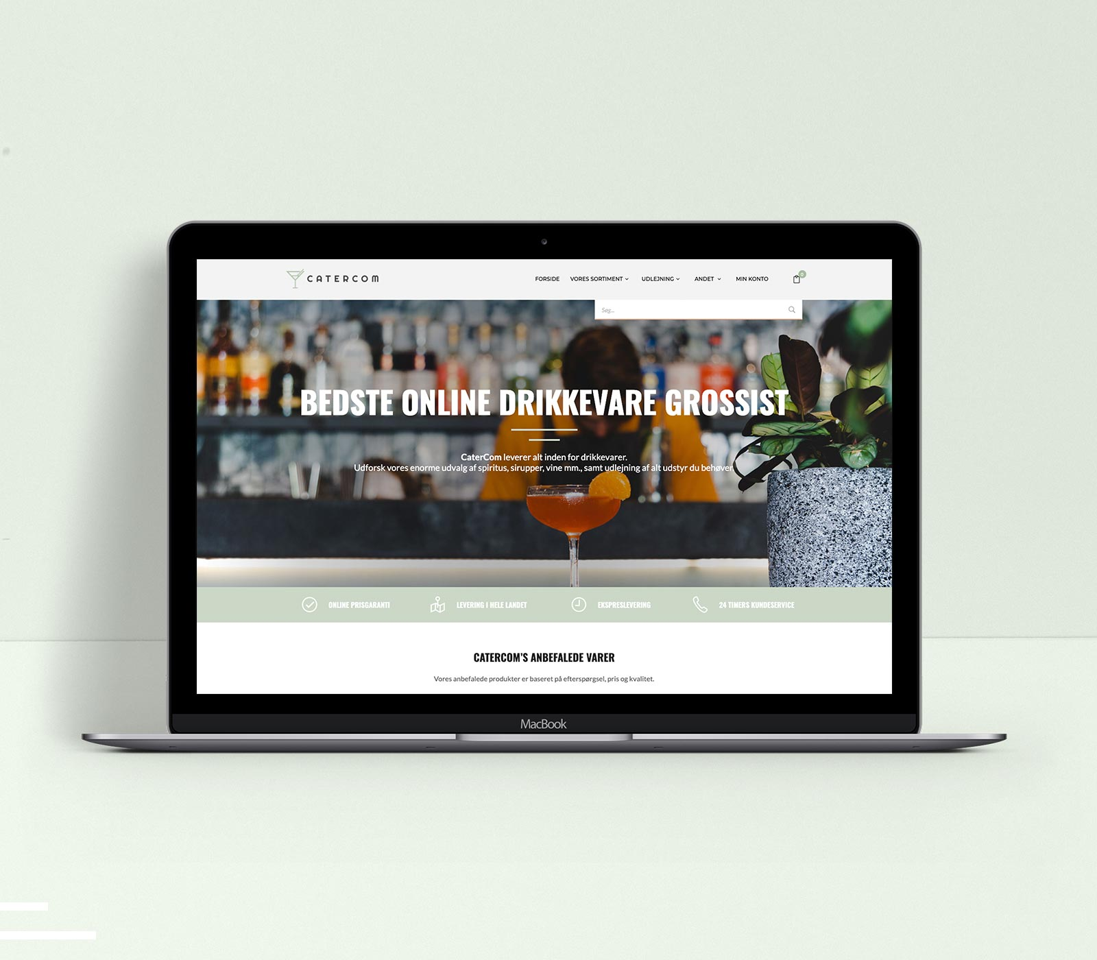 CaterCom - An online beverage wholesaler by Nordic Liquid Group